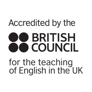 Accredited by British Council for teaching English in the UK