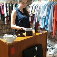 work and study in shops